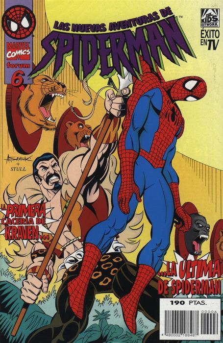 Las nuevas aventuras de Spiderman Vol.1 #6 (de 15)