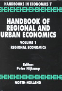 Handbook of Regional and Urban Economics: Regional economics