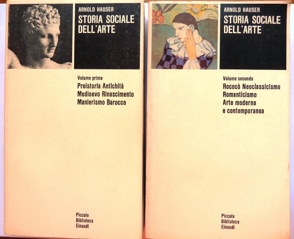 Storia sociale dell'arte