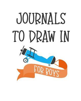 Journals to Draw in ...