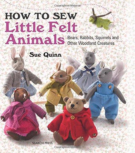 How to Sew Little Felt Animals