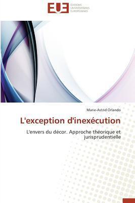 L'Exception d'Inexecution