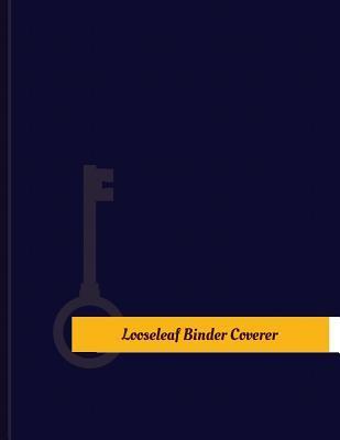 Binder Coverer Work Log