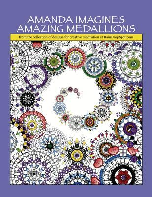 Amanda Imagines Amazing Medallions Coloring Book