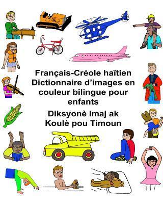Français-créole Haïtien Dictionnaire D'images En Couleur Bilingue Pour Enfants