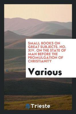 Small Books on Great...