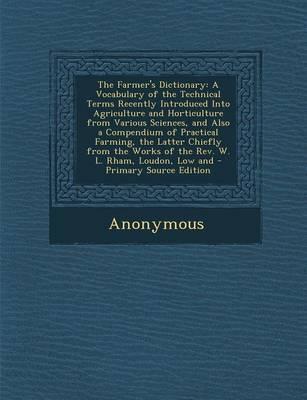 The Farmer's Dictionary