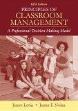 Principles of Classroom Management
