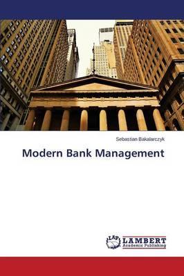 Modern Bank Management