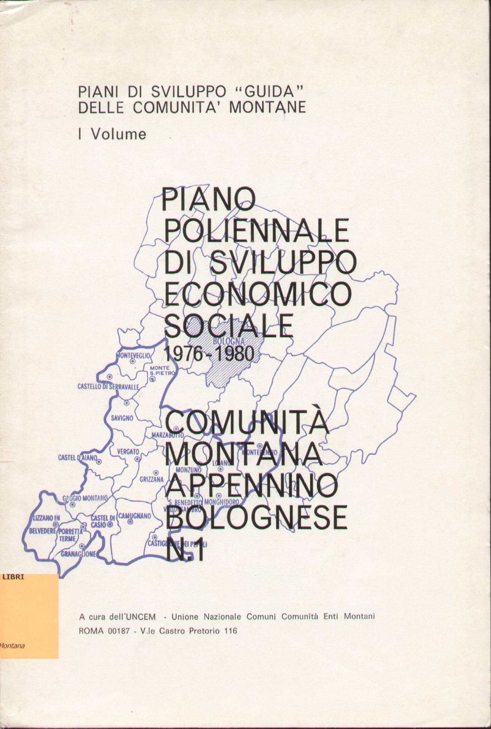 Piano di sviluppo guida delle comunità montane - vol. 1