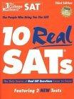 10 Real SATs, Third Edition