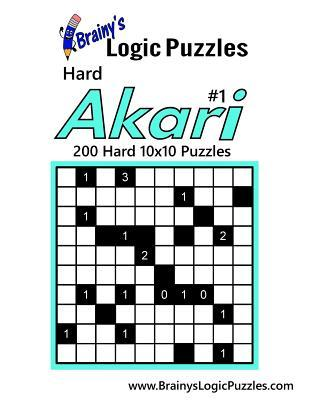 Brainy's Logic Puzzles Hard Akari
