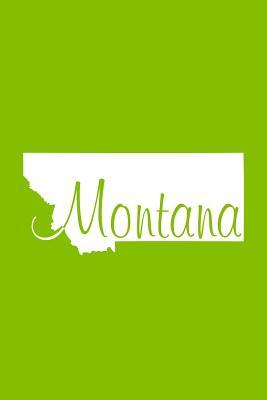 Montana Lime Green Lined Notebook With Margins