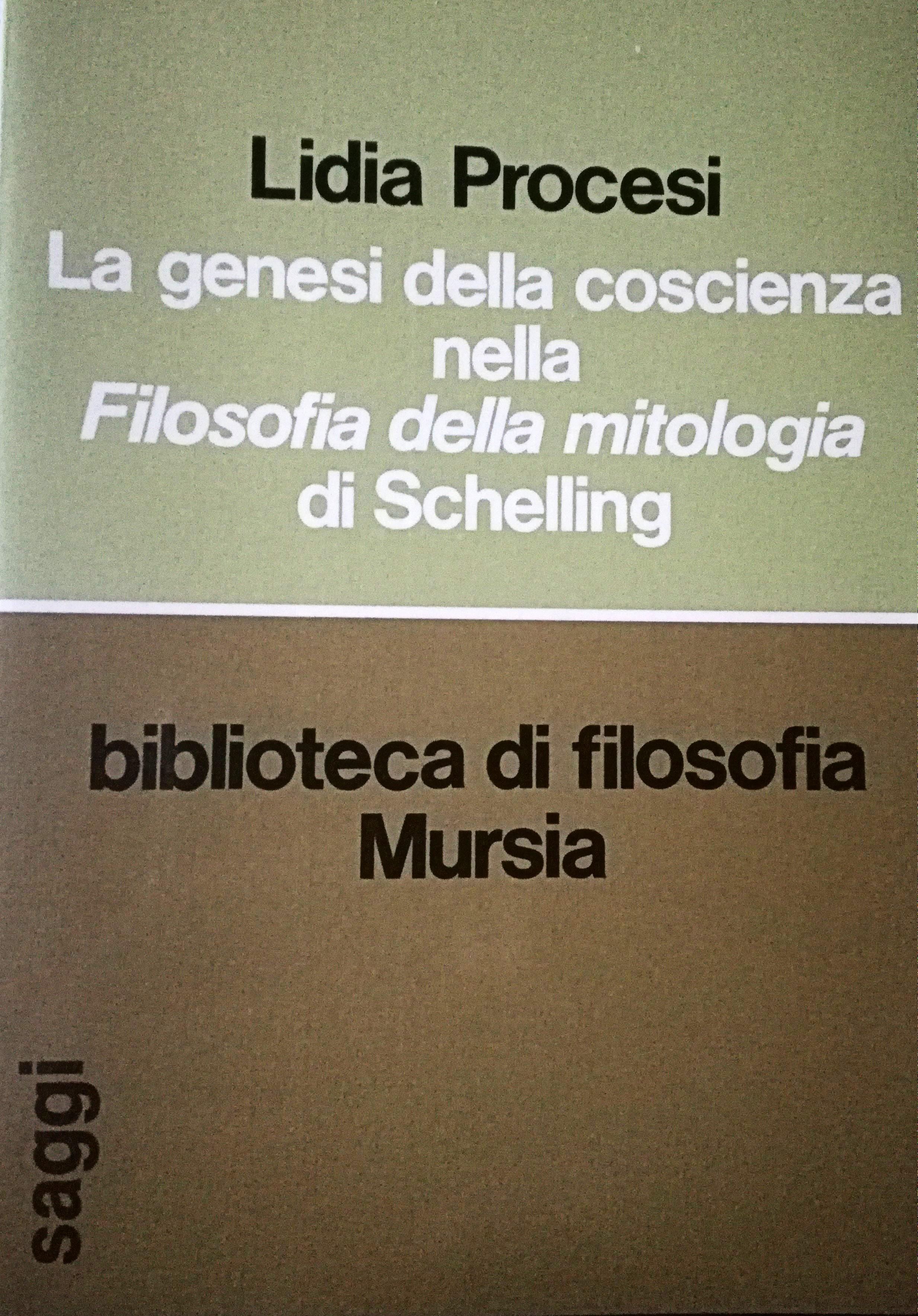 La genesi della coscienza nella Filosofia della mitologia di Schelling
