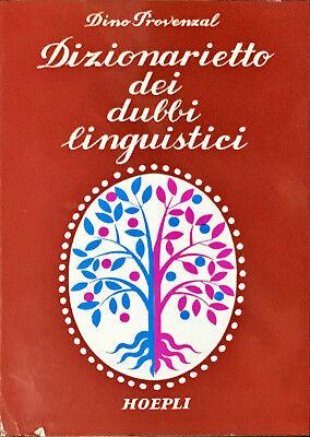 Dizionarietto dei dubbi linguistici