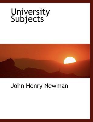 University Subjects