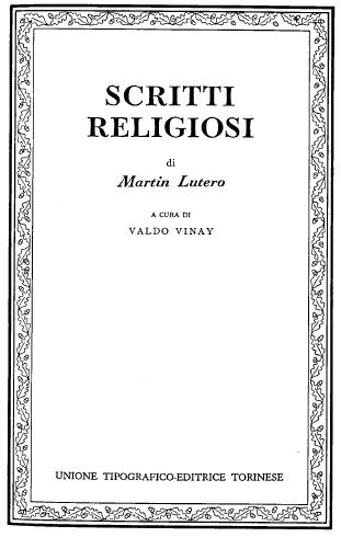 Scritti religiosi