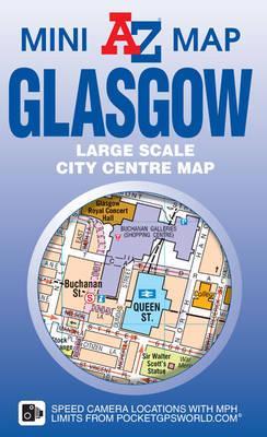 Glasgow Mini Map (A-Z Mini Maps)