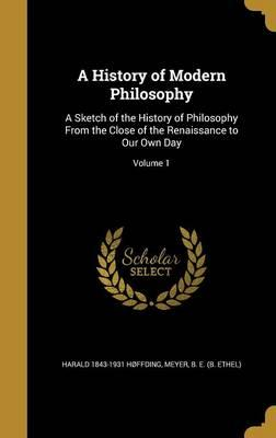HIST OF MODERN PHILOSOPHY