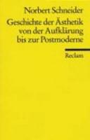 Geschichte der Ästh...