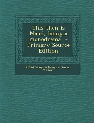 This Then Is Maud, B...