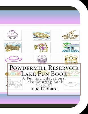 Powdermill Reservoir Lake Fun Book Coloring Book