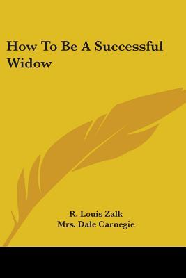How to Be a Successful Widow