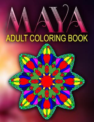 Maya Adult Coloring Book