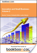 Innovation and Small Business - Volume 2
