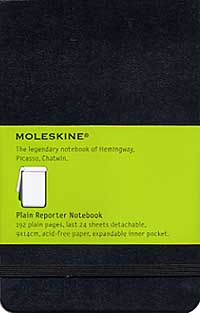 Pocket Reporter Plain Notebook