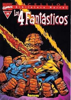 Biblioteca Marvel: Los 4 Fantásticos #24 (de 32)