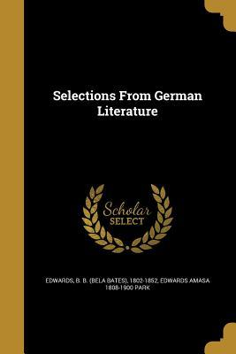 SELECTIONS FROM GERMAN LITERAT