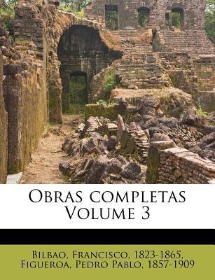 Obras Completas Volume 3