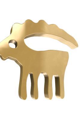 Gold Capricorn Horos...