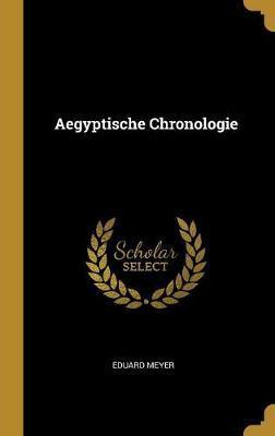 Aegyptische Chronologie