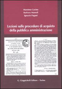 Lezioni sulle procedure di acquisto della pubblica amministrazione