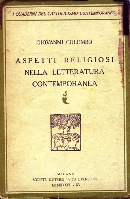 Aspetti religiosi nella letteratura contemporanea