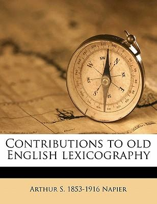 Contributions to Old English Lexicography