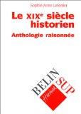 Le XIXe siècle historien