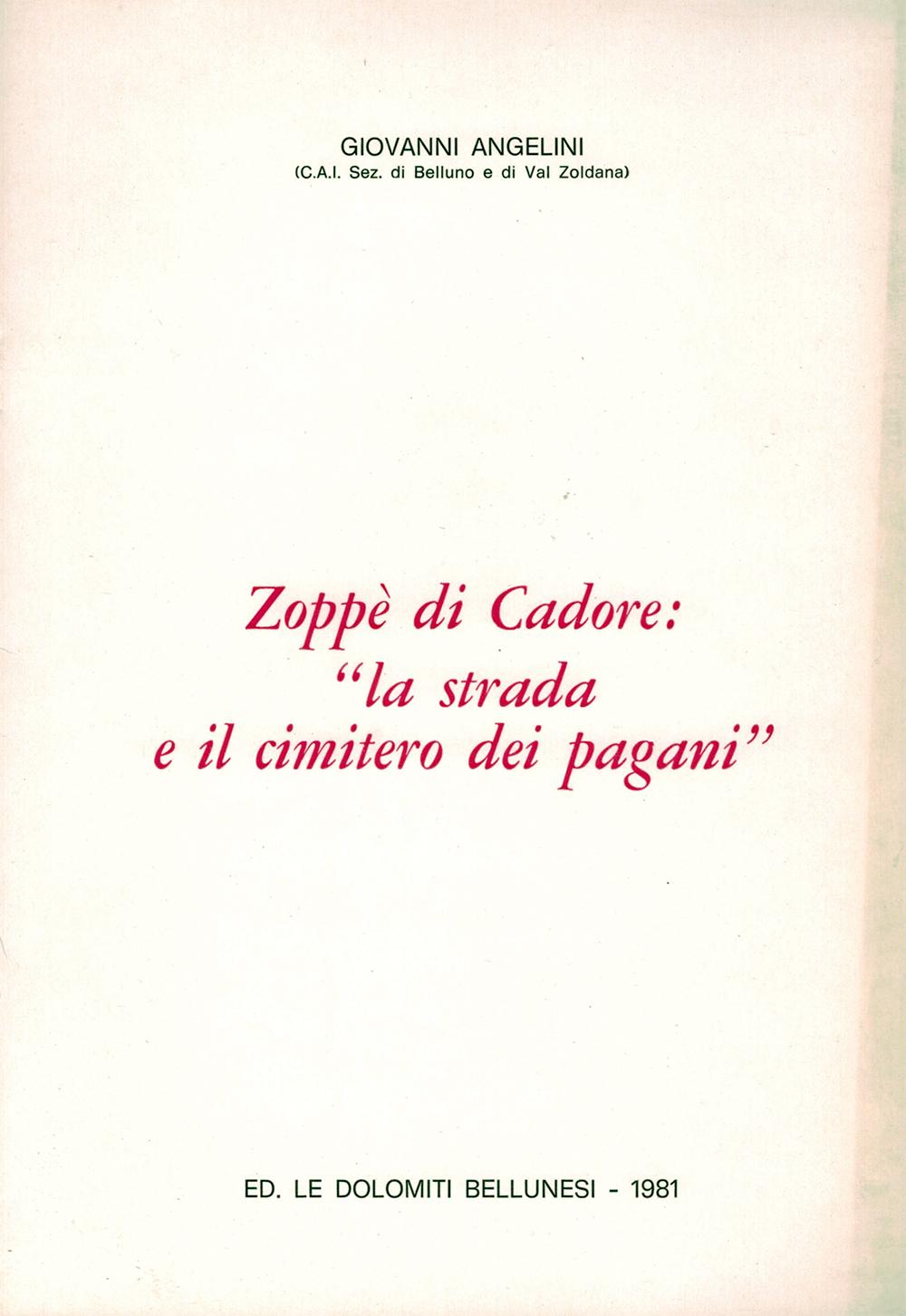 Zoppè di Cadore