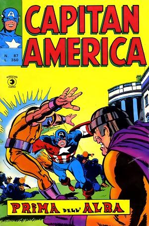 Capitan America n. 87