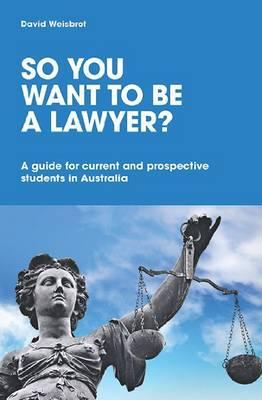 So You Want to Be a Lawyer?