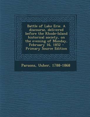 Battle of Lake Erie....