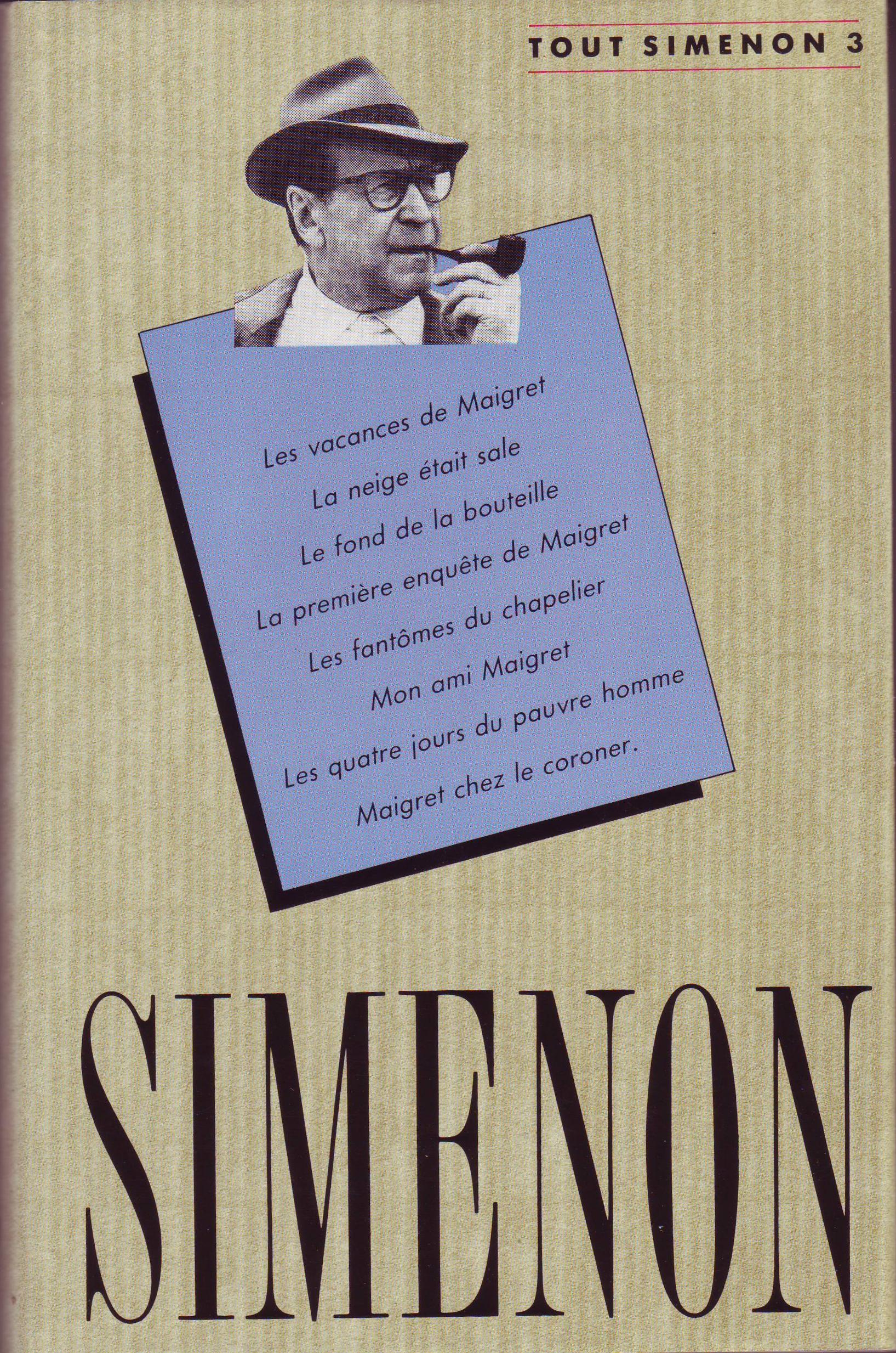 Tout Simenon - Vol. 3