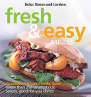 Better Homes and Gardens Fresh and Easy Meals