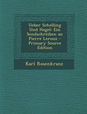 Ueber Schelling Und ...
