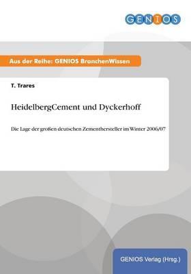 HeidelbergCement und Dyckerhoff