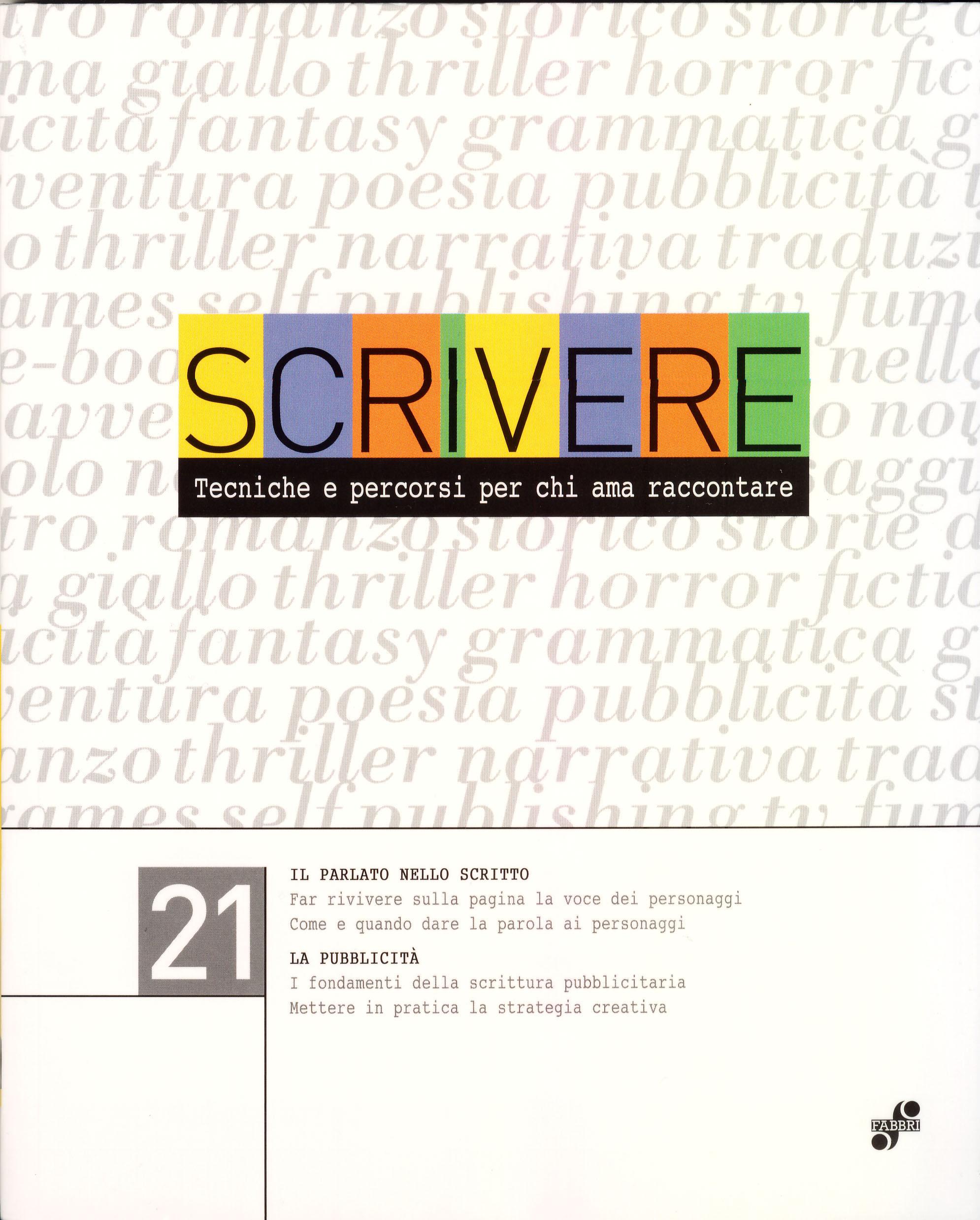 Scrivere - vol. 21