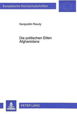 Die politischen Eliten Afghanistans