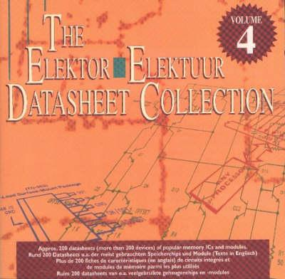 CD-ROM ELEKTUUR DATASHEET4 GEHEUGENCHIPS & MOD